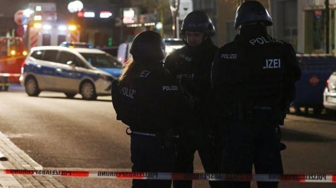 जर्मनीमा दुई स्थानमा गोलीबारी, आठ जनाको मृत्यु