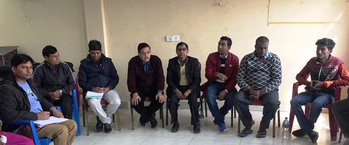 क्षय रोग सम्बन्धि ५ वार्षिय रणनितिक योजना बनाउन जीतपुरमा मजदुरसंग छलफल